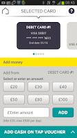 Screenshot of EE Tap Wallet - Cash on Tap