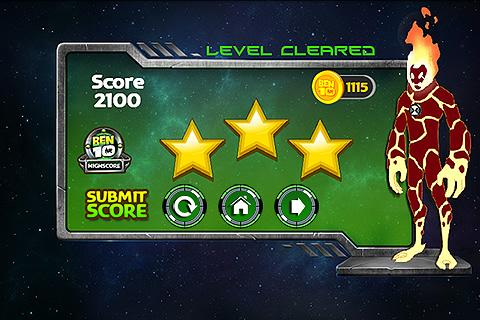 Ben 10 Galactic Getaway - screenshot