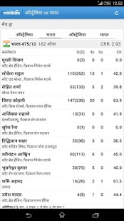 Cricbuzz - In Indian Languages- screenshot thumbnail