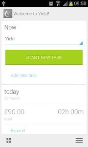 Yield Timesheet (Beta) screenshot 2