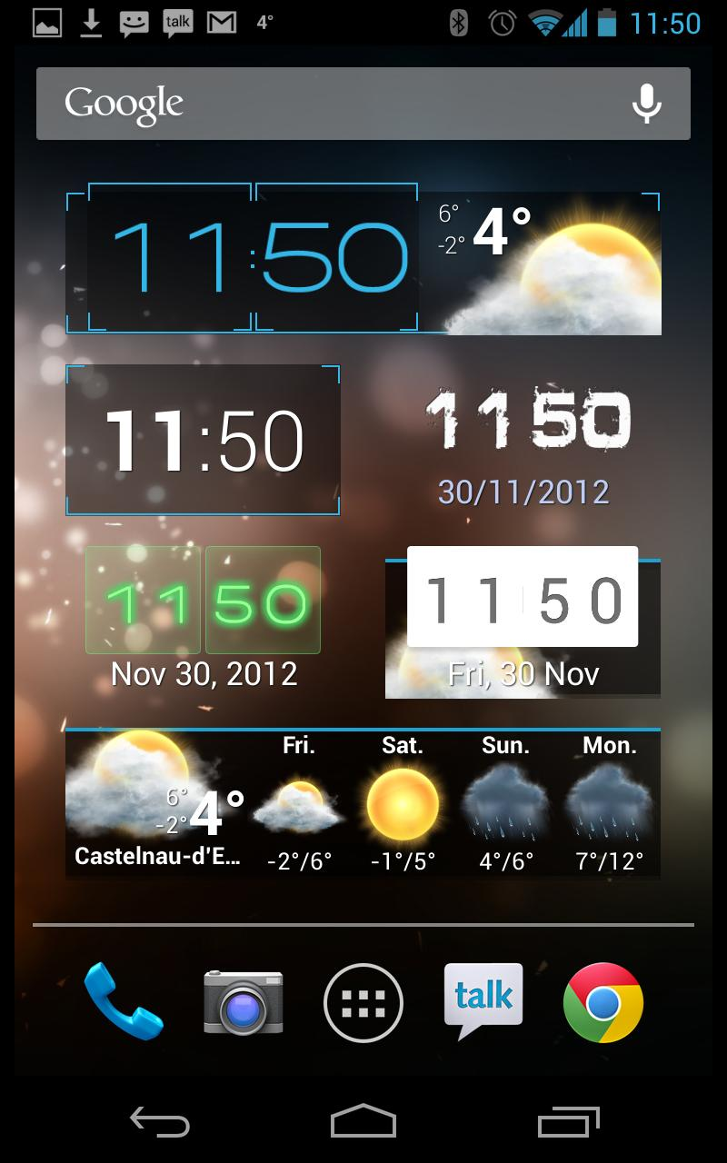 Beautiful Widgets Pro screenshot #4