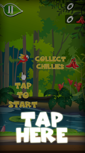 The flappy happy parrot- screenshot thumbnail