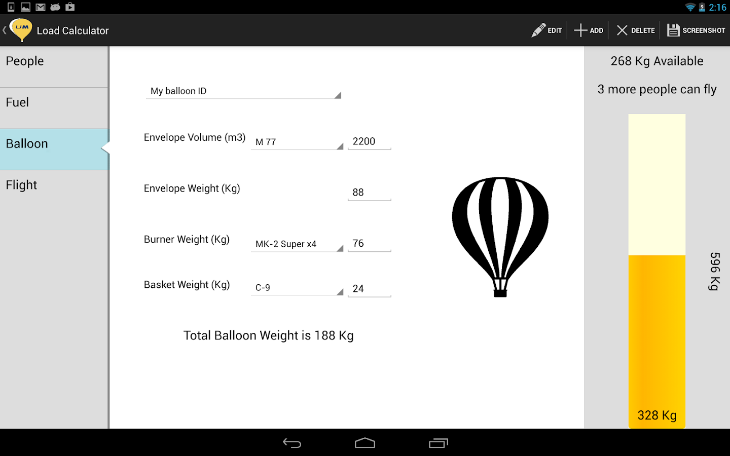 Ultramagic Balloon FlightPack- screenshot