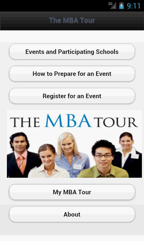The MBA Tour - screenshot