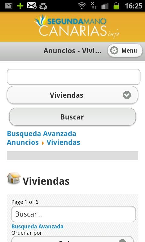 Segunda Mano Canarias - screenshot