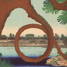 広重散歩(下) 『江戸名所百景』