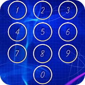 Keypad locker screen