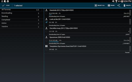 aTorrent - Torrent Downloader screenshot