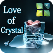 Love of Crystal Next 3D Theme
