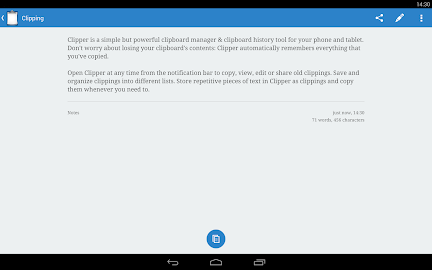 Clipper - Clipboard Manager Screenshot 2