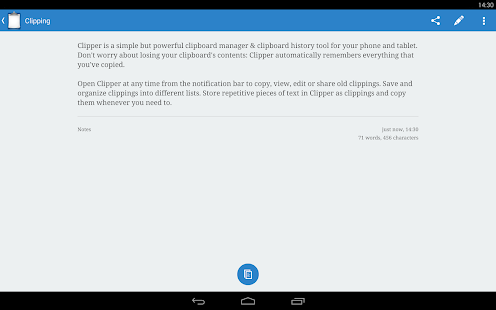 Clipper - Clipboard Manager Screenshot 11