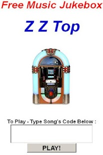 Z Z Top JukeBox - screenshot thumbnail