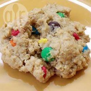 Smartie Oatmeal Cookies Recipe
