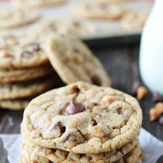 Butterscotch, Toffee, Chocolate Chip Cookies