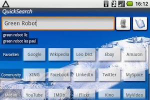 Screenshot of QuickSearch