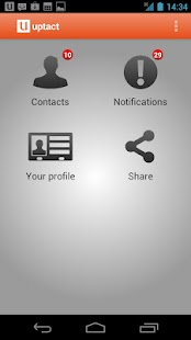 Contacts Sync - Uptact - screenshot thumbnail