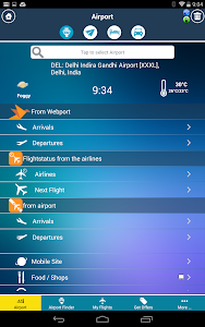 New Delhi Airport + Radar DEL screenshot 1