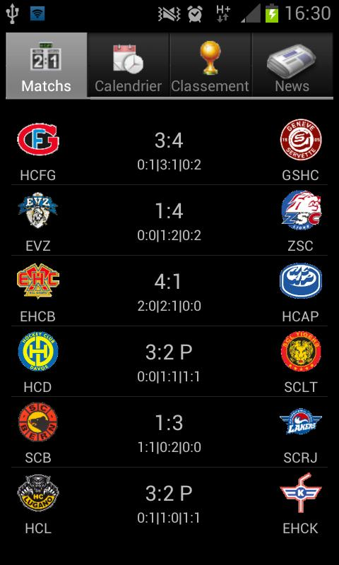 Hockey Suisse Live – Applications Android sur Google Play