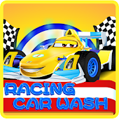 Racing Car Wash