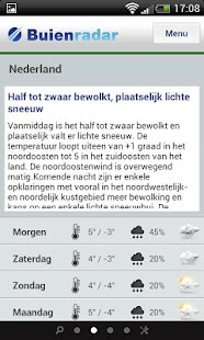 Buienradar.nl Phone - screenshot thumbnail