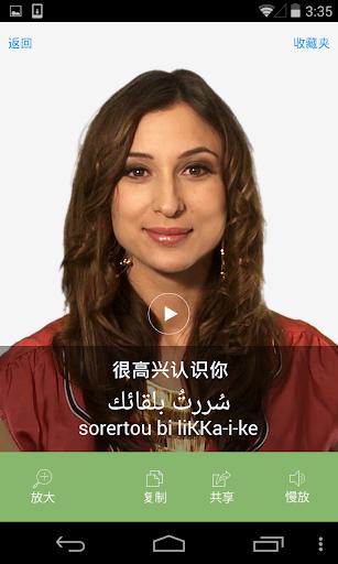 汉语至阿拉伯语 - 阿拉伯文翻译