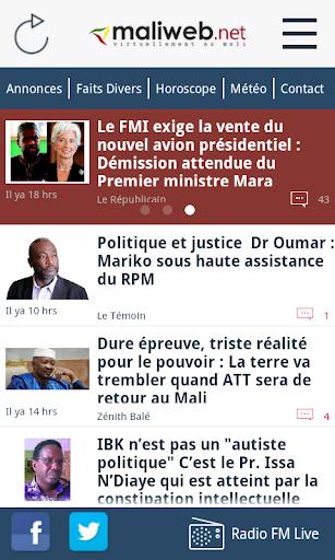 MaliWeb.net Nouvelles du Mali