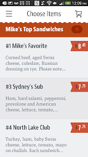 Mike's Deli- screenshot thumbnail