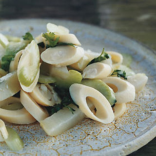 Chayote and Hearts-of-Palm Salad.