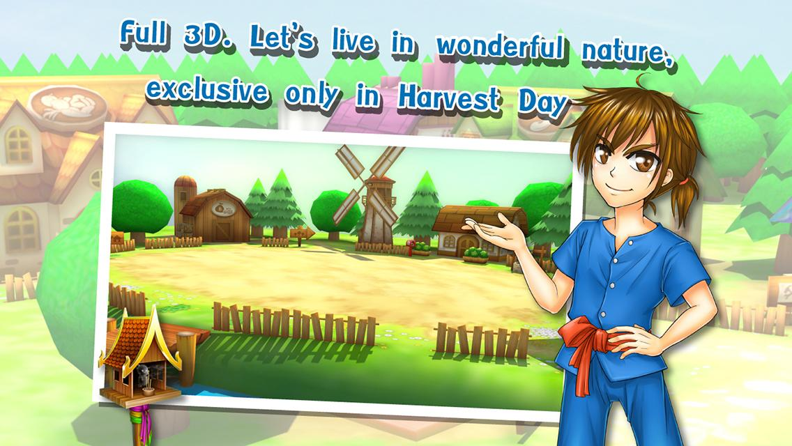 Country Life: Harvest Day- screenshot