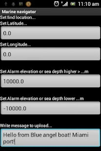 Marine navigator - Fish finder - screenshot thumbnail