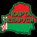 Карта Республики Беларусь icon