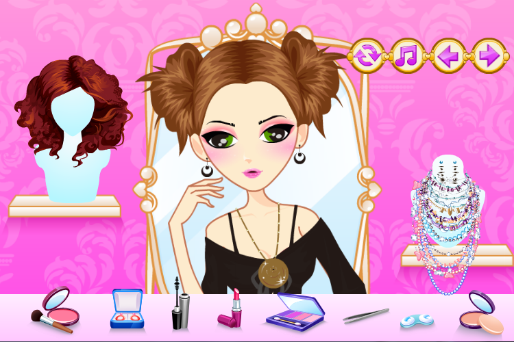 Singer Star Makeover Salon- screenshot