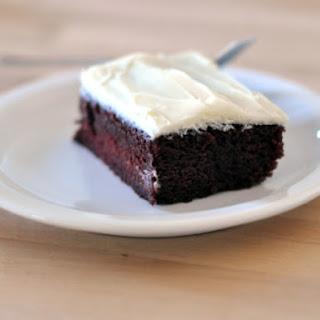 Lazy Red Velvet Cake