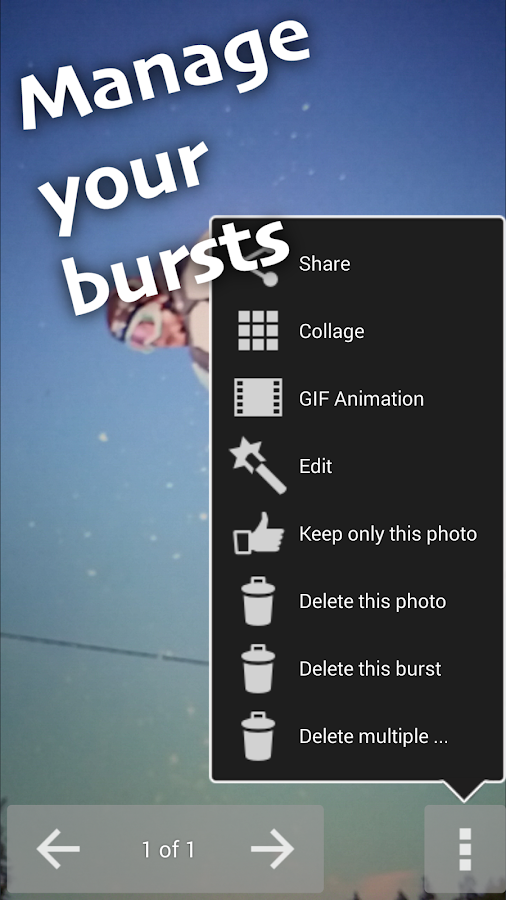Fast Burst Camera Lite- screenshot