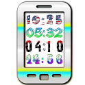 Yaclock digital clock Widget icon