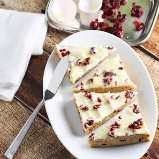 Cranberry Bliss Bars.