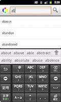 Screenshot of English to Urdu Dictionary
