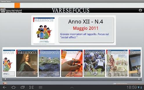 VareseFocus, Varese Magazine- screenshot thumbnail