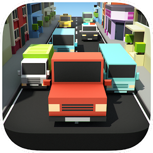 Blocky Pixel Traffic Racer for PC and MAC