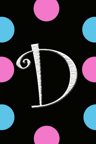 letter d wallpaper with love - photo #9