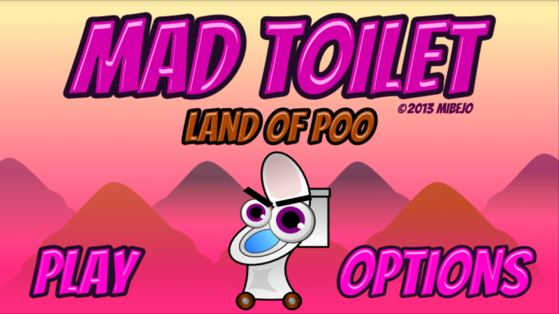 Mad Toilet crush the poo saga - screenshot