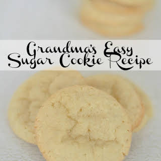 Grandma's Easy Sugar Cookie.
