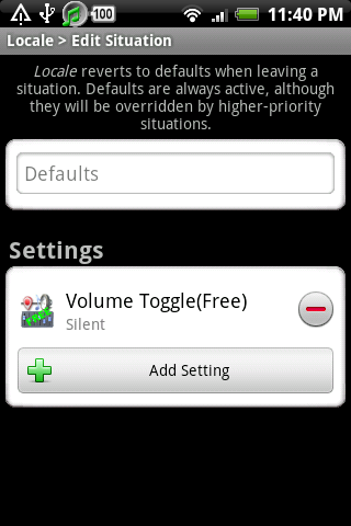 Locale Volume Toggle(F Plug-in - screenshot