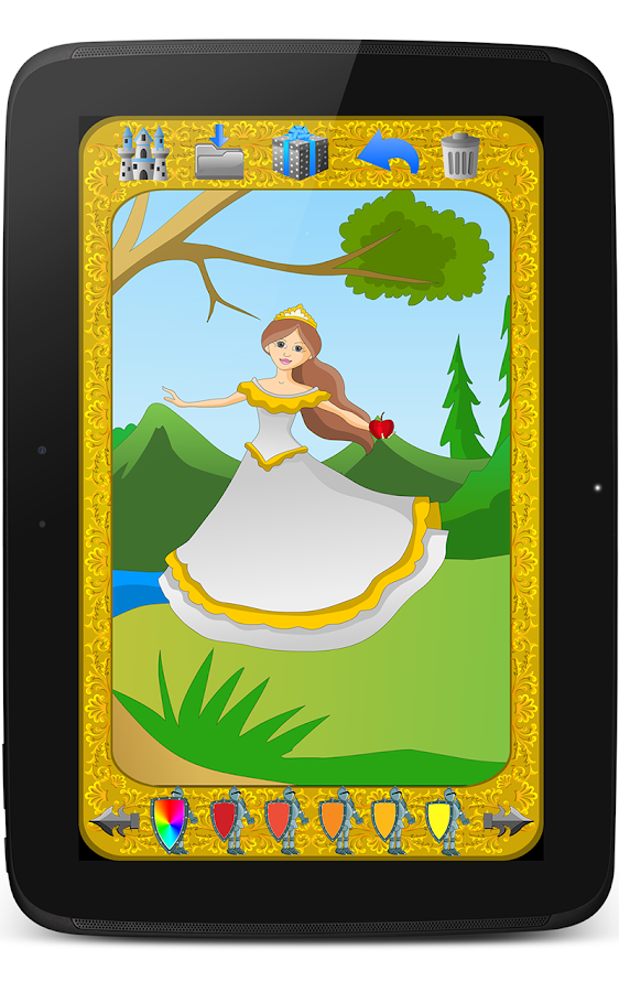 Kidoko fairytales paint free android apps op google play for Google paint online