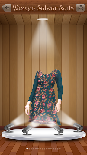 女人沙瓦库达套装照片制作