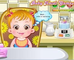 Screenshot of Baby Hazel Fun Time