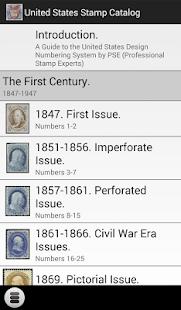 United States Stamp Catalog - screenshot thumbnail