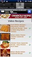 Screenshot of Casserole Recipes!!