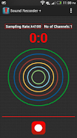 Screenshot of Sound Recorder + Pro