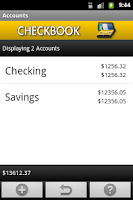 Screenshot of Checkbook (free)